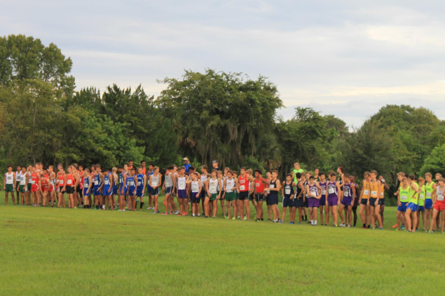 All cross country teams ready to race at the Winter Springs Invitational