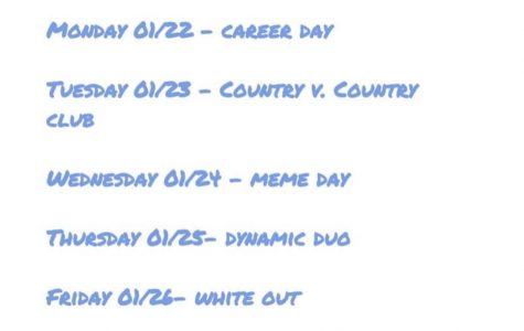 Sadie Hawkins Spirit Days