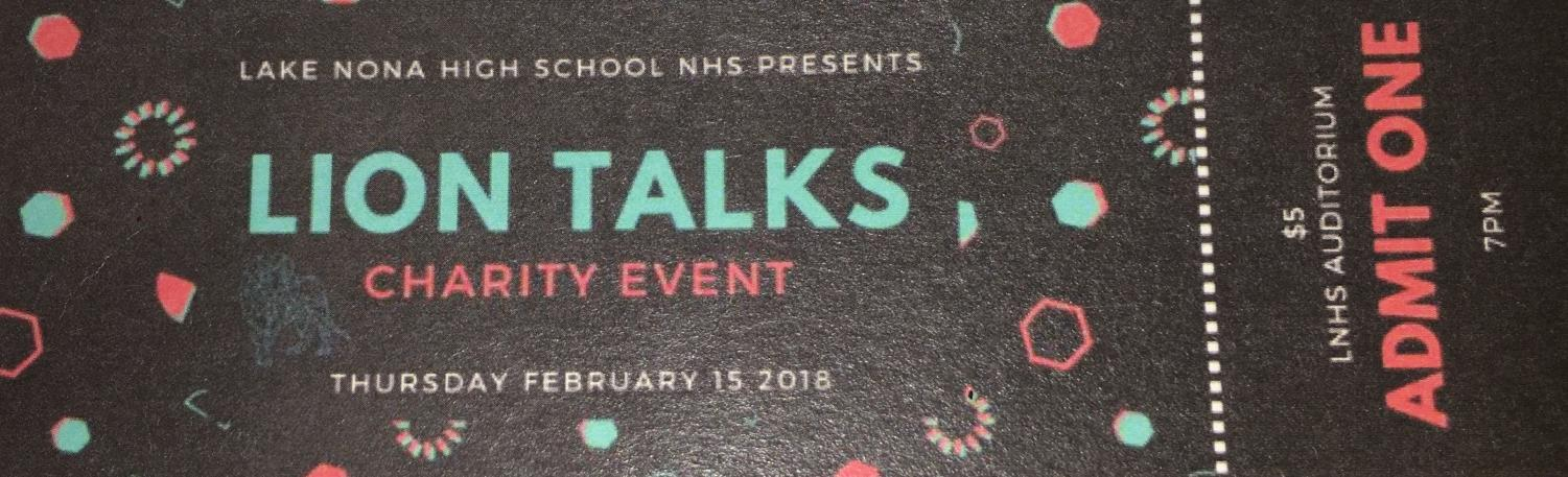 Lion Talks – NHS Charity Event