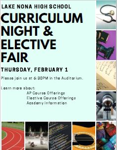 Curriculum Night and Elective Fair Gives Future Freshmen a Glimpse of High School Choices