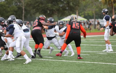 Varsity football unable to get going against Winter Park