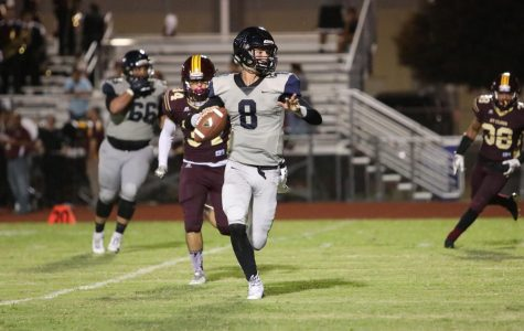 Varsity football show no mercy against St. Cloud