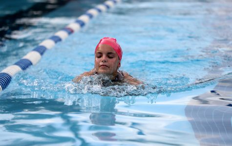 Lions Take a Loss at Tri Swim Meet