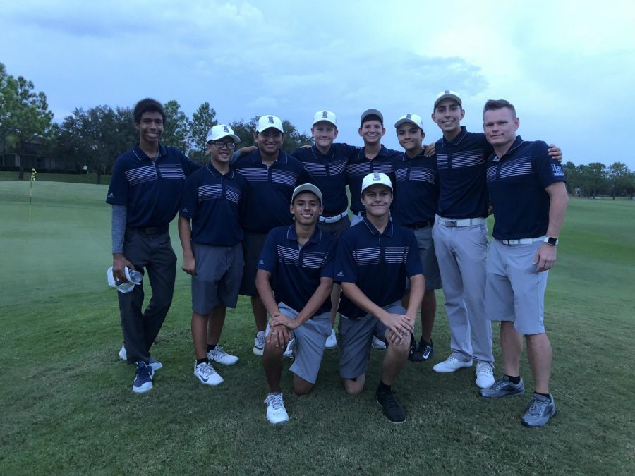 Boys+golf+was+victorious+over+Boone+high+school+on+Senior+Match+Night+at+Eagle+Creek+Golf+Club