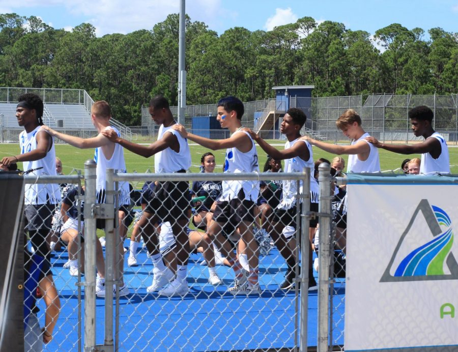 Lake Nona High's favorite tradition, Powder Puff, is underway