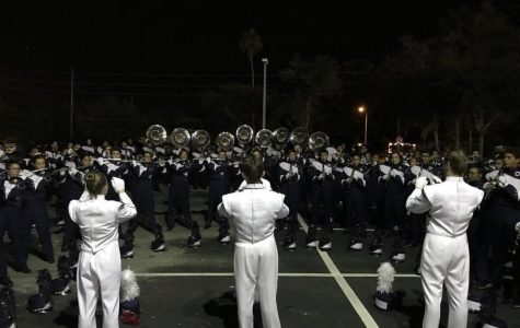 Band's comp against Oviedo