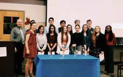 Rho Kappa Holds Second Annual Induction Ceremony