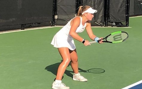Girl's Tennis shut out East River