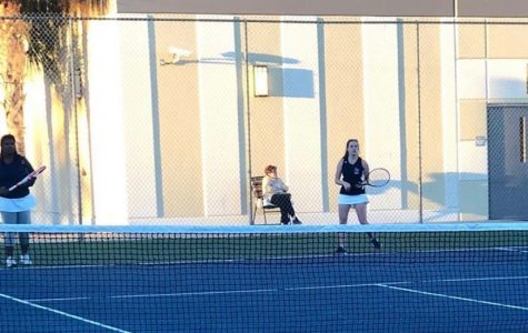 Girls Tennis Victory over Oak Ridge