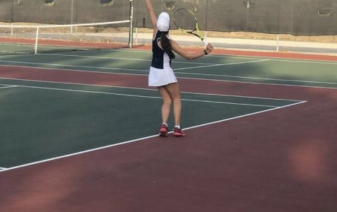 Girls Tennis Victory over St. Cloud High School