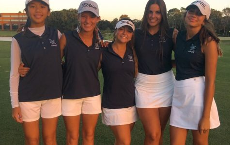 Girls Golf Beats Christian Circle by a Close One