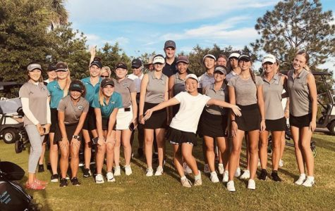 Girls golf tops Olympia is season opener