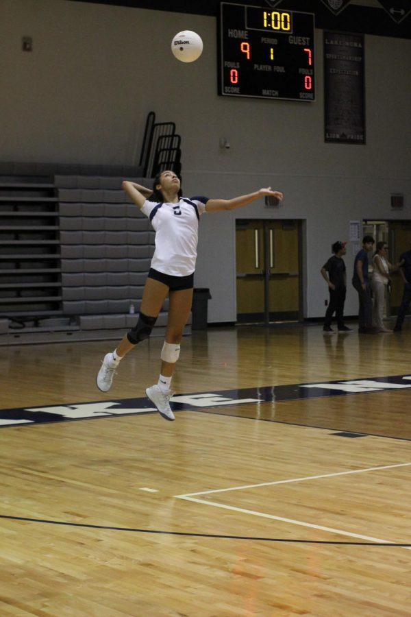 Varsity Volleyball Returns From Minor Setback Against Boone