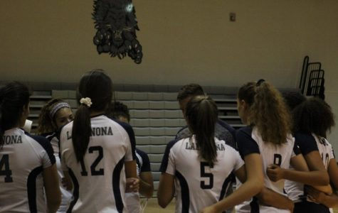 Girls Varsity Volleyball clutches victory against Freedom Patriots