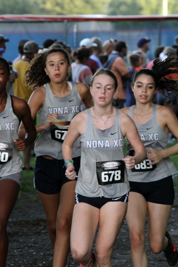 Girls Cross Country Compete at West Orange Invitational