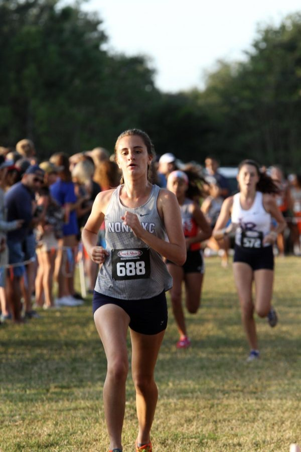 Varsity Girls Cross Country at Hagerty Invitational