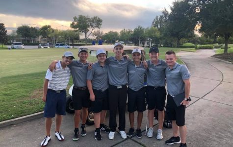 Boys Golf first win of the season