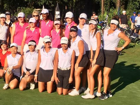 Girls Golf in the Central Florida Tournament