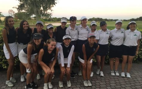 Girls Golf Extending their Record in Match Play