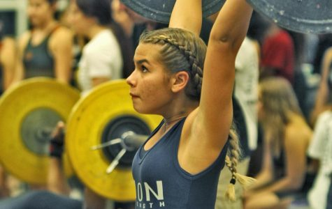 Girls Weightlifting against boone 12/12