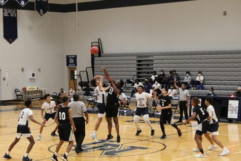 Varsity Basketball Team Wins First Game of the Season against Cypress Creek High School